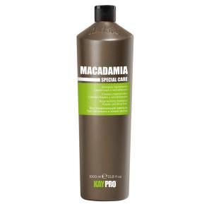 Kaypro Makadaamiaõliga niisutav šampoon kuivadele ja kahjustatud juustele 1000ml