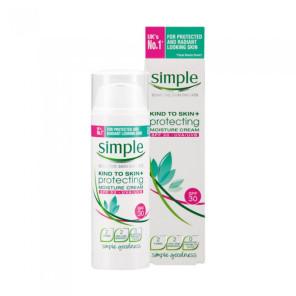 Simple Kind To Skin+ PROTECTING MOISTURE CREAM SPF 30 50ml