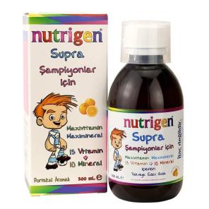 Nutrigen Supra vitamiinide ja mineraalide kompleks 200ml