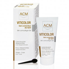 ACM VitiColor tooniv geel valgete laikudega nahale 50ml