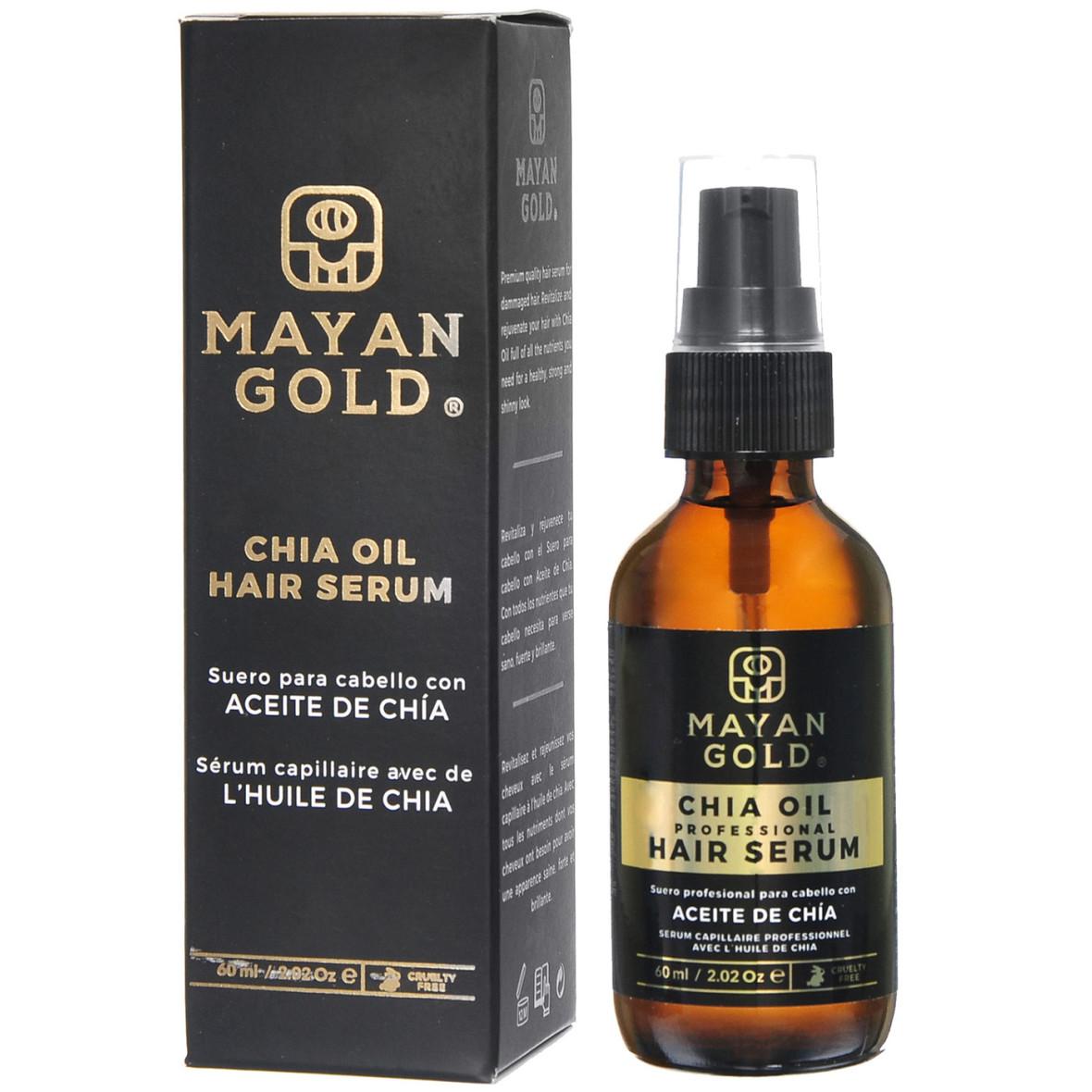 Mayan Gold Chia Oil Hair Serum 60ml Beautyx Ee