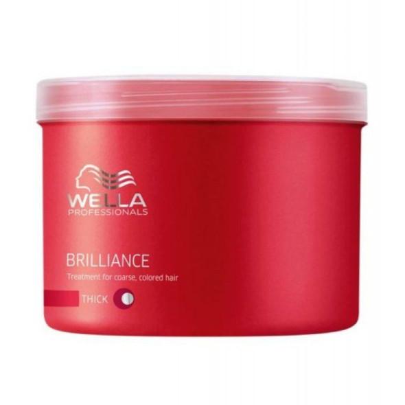 Wella Brilliance Juuksemask tugevatele värvitud juustele 500ml